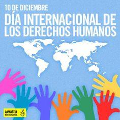En el Día Internacional de los Derechos Humanos queremos recordar a todas esas personas que se han unido a la lucha por un mundo más justo.   Sigamos iluminando el camino de la esperanza, sigamos alzando la voz para que ningún esfuerzo sea en vano y para que nadie tenga que arriesgar su vida por defender la dignidad e igualdad que todas las personas merecemos.  Súmate al movimiento en: https://amnistia.org.mx/sumate/