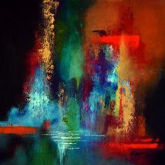 Acrylic on canvas 60x60 cm