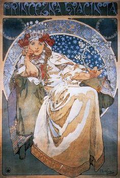 princezna-hyacinta.jpg (324×480) by Alphonse Mucha