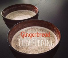 This Gingerbread Chia Pudding is good for you and a perfect filling breakfast or fun dessert!