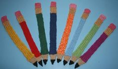 crocheted bookmark... wouldn't this be cute for a teacher or student?
