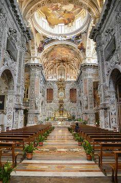 #labellaitalia con ziafranca #Palermo Chiesa di Santa Caterina...