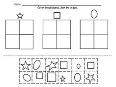 best sorting kindergarten images  classroom ideas classroom  kindergarten math sorting  by color by size by shape button sorting