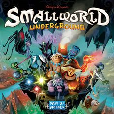 Board Games :: By Theme :: Fantasy Board Games :: Small World Underground - RPG Shop & Board Game Store
