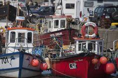 Irish fishing boats