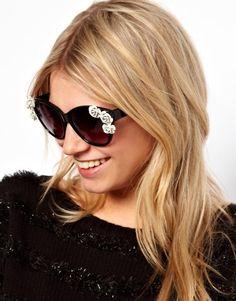 gafas de sol decoradas, nueva tendencia...