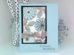 ▶ Simply Simple FLASH CARD - ZenDoodle Card by Connie Stewart - YouTube#t=329