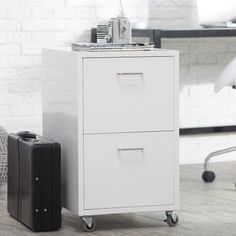 Maxwell Metal File Cabinet - File Cabinets at Hayneedle