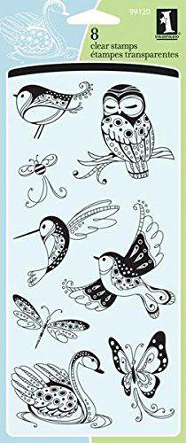 Inkadinkado Clear Stamps, 4 by 8-Inch, Patterned Birds and Bugs Inkadinkado http://www.amazon.com/dp/B001UJYBKA/ref=cm_sw_r_pi_dp_Cztqvb1V7DVV2