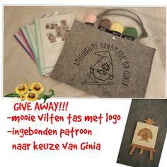 Give away op fb site: Amigurumi handmade by Ginia