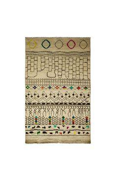 Darya Rugs Moroccan Shanika Ivory Rug