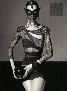 Vogue Italia's October Issue Shot by Greg Lotus