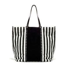 Bolso white stripes