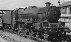 45579 PUNJAB at Derby Midland Steam Trains Uk, Steam Railway, British Rail, Train Engines, Training Day, Train Car, Steam Engine, Steam Locomotive, Model Trains