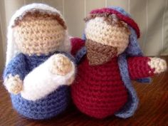 crochet Nativity - I have made TONS of these. Such lovely free patterns... thank you 'the crafty cattery'