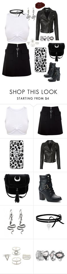 """""""Untitled #810"""" by lilachswan ❤ liked on Polyvore featuring Dondup, IRO, Apt. 9 and Charlotte Russe"""