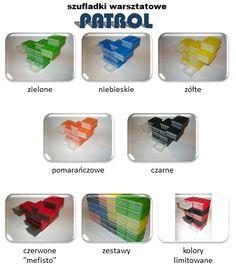 PATROL szufladki magazynowe pojemniki 78x100x45H (5300912880) - Allegro.pl - Więcej niż aukcje.