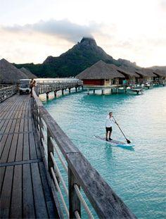 #SUP #tahiti #paddleboarding #destination #vacation