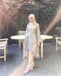 Dress Brokat Muslim, Dress Brokat Modern, Kebaya Muslim, Muslim Dress, Kebaya Modern Hijab, Kebaya Hijab, Kebaya Lace, Kebaya Dress, Moslem Fashion