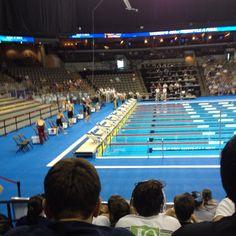 Omaha Olympic swim trials.