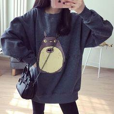 Harajuku totoro sweatshirt SE9111