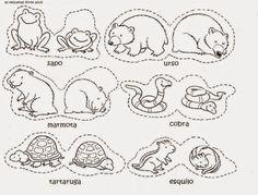 AS NOSSAS PARTILHAS: A hibernação dos animais - Fichas de trabalho: