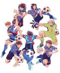 Captain Tsubasa, Cardcaptor Sakura, Saber Marionette J, Comics Spiderman, Anime Network, European Soccer, Fanart, Girls Anime, New Champion