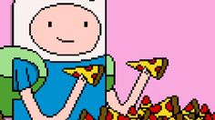 New party member! Tags: pizza grunge adventure time indie hipster jake finn alternative
