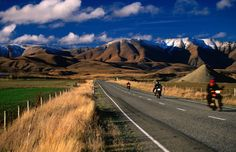 Road tour in New Zealand