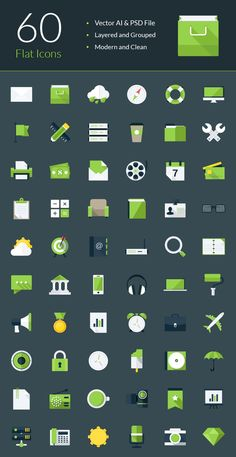 The latest collection of best free e-commerce icon sets from various sources. These icons are good for e-commerce websites and mobile apps. Flat Design Icons, Web Design, Flat Icons, Icon Design, Design Tech, Icon Pack, Icon Font, Vector Icons, Vector File