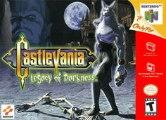 Castlevania: Legacy of Darkness. Very good action adventure sequel for the Nintendo Carrie, Playstation, Castlevania Anime, Nintendo 64 Games, Nintendo N64, Evil Minions, Funny Minion, Game Of The Day, Game Data
