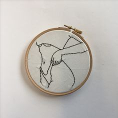 Flower Embroidery Designs, Simple Embroidery, Hand Embroidery Stitches, Embroidery Hoop Art, Cross Stitch Embroidery, Creations, Couture, Crochet, Human Human