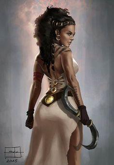 """Dothraki"", illustrated by Salena Barnes. Source: http://salenabarnesartwork.tumblr.com/"