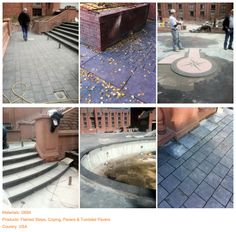 Project (11) Materials: G684  Products: Flamed Steps, Coping, Pavers & Tumbled Pavers  Country: USA