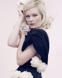Kirsten Dunst, photo by David Slijper