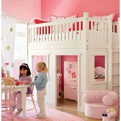 Awesome Playhouse Loft Bed Plans and Best 25 Playhouse Bed Ideas On Home Design Kura Bed Kura Bed Bunk Beds Small Room, Bunk Beds With Stairs, Kids Bunk Beds, Small Rooms, Playhouse Loft Bed, Loft Bed Plans, Girls Playhouse, Loft Spaces, Little Girl Rooms
