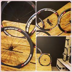 Så fik opsat EDCO hjulstander hos Cykel & Fritid Ikast #gear4bikes #Powertap  #edcocyclingcomponents