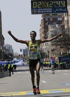 Lemi Berhanu Hayle...Boston Marathon winner 2016