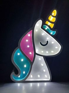 Unicorn Light Fixture