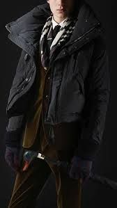 Super-insulating men's outerwear from Burberry, featuring puffers and quilted barn jackets to reversible car coats. Drop Bear, Bear Character, Funnel Neck, Quilted Jacket, Puffer Jackets, Burberry, Bomber Jacket, Menswear, Leather Jacket