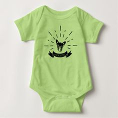 #Frenchie Love Baby Bodysuit - #bulldog #puppy #bulldogs #dog #dogs #pet #pets