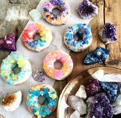 """crystal"" donuts"