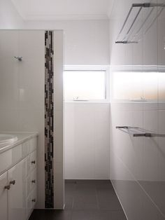 Including Built In Shower And Vanity, Custom Built To Suit An Existing Small  Space.