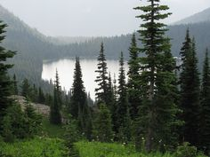 Dewey Lake, Cascade Mountains, Washington. Backpacked here with Ryan, August 2010, and with some friends Sept 2011