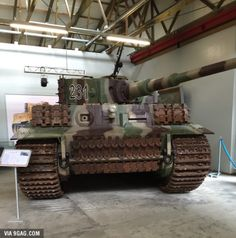 The beauty in real life (Tiger Tank)