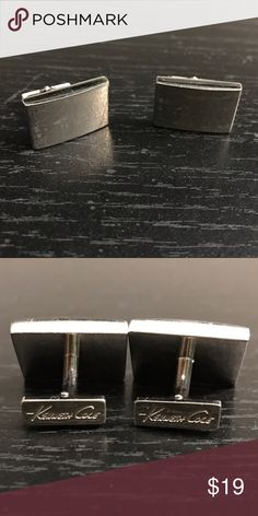 Kenneth Cole Cufflinks Gently used. Kenneth Cole Accessories Cuff Links