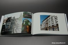 Fotoalbum 28x20 aperto con copertina rigida http://shop.easyalbum.it/fotoalbum