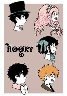 Dorian, Monica, Dani, Nico, and Mark. Webtoon Comics, Character Design Inspiration, Anime Comics, Fanart, Kawaii Anime, Anime Manga, Comic Strips, Cute Art, Manhwa