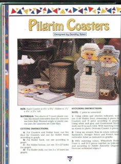 ANOTHER PILGRIM COASTER 1/2