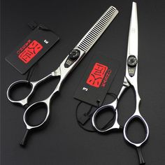 6 Inch Kasho Scissors Professional Hair Scissors High Quality Hairdressing Barber Hair Cutting Shears Sets. Yesterday's price: US $37.98 (32.65 EUR). Today's price: US $18.99 (16.32 EUR). Discount: 50%.